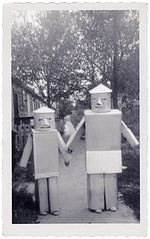 1950's Halloween Robots photo by Neato Coolville