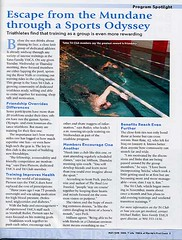 Yates Tri Club featured in Y Life magazine