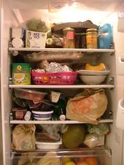 l'interno del mio frigorifero