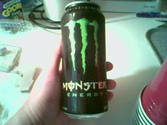 Monster drinks