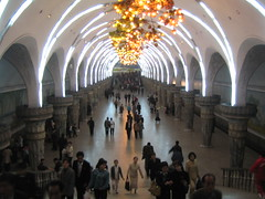 Pyongyang metrostation