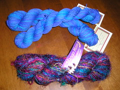 Blue Spirit Trail & Recycled Sari Silk