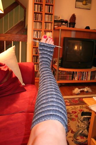 Incomplete sock