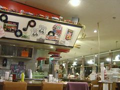 Inside Route 66 Diner II
