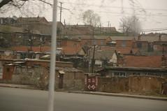 uitzicht uit het raam in China