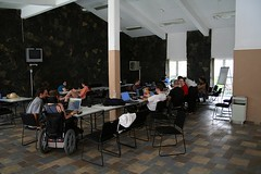 Wider view of hacklab