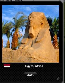 My widget of Egypt