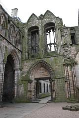 Ruins of the Abbey Church at Holyrood, Edinburgh (2)