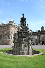 The Fountain at the Palace of Holyroodhouse, Edinburgh