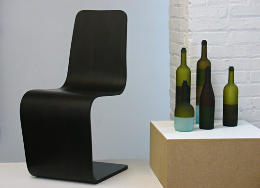 HauteGREEN, Adapt Design, Spring Chair, Jerry Kott, Glassware, Sustainable Design, Green Design, Plyboo, Bamboo Ply
