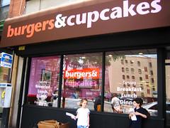 burgers & cupcakes!