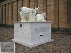No 58 The Three Grazers at Edinburgh Cow Parade 2006