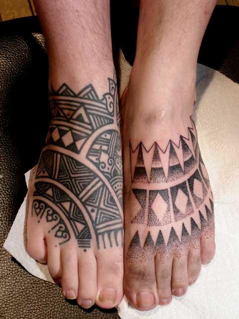 Tattooed Feet By Calypso Tattoo Kevin S At Nyc