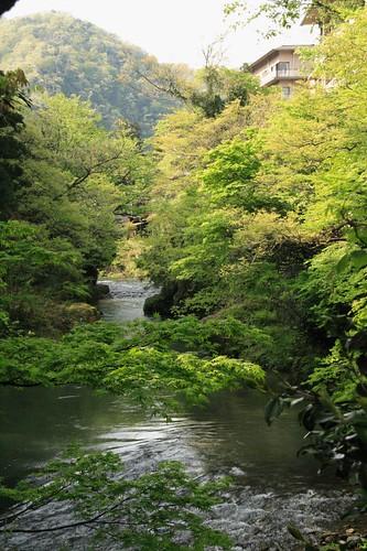 鶴仙溪美景