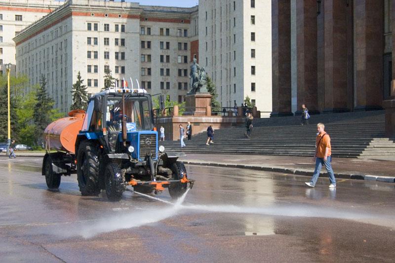 Washing the university