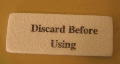 discard before using