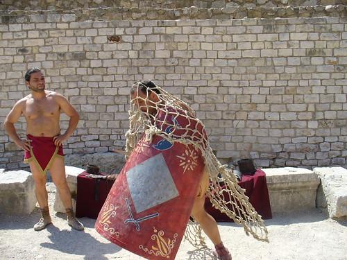 Atacado por un Retiarius