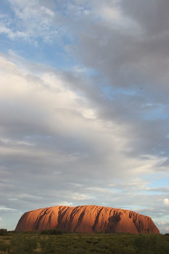 Day 12 - Another Shot of Uluru at Sunset