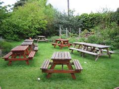 Beer Garden at Botanic House Hotel, Edinburgh