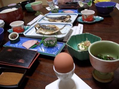 20060322 弁天鉱泉 朝食
