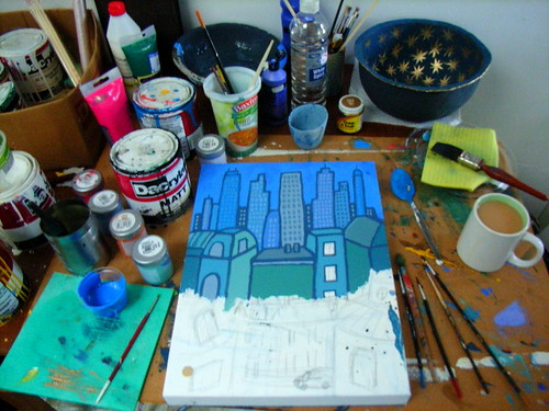 Paint Table 2