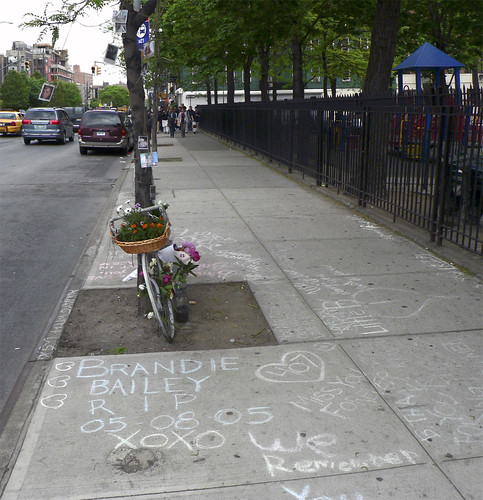Brandie Bailey - Ghost Bike Memorial