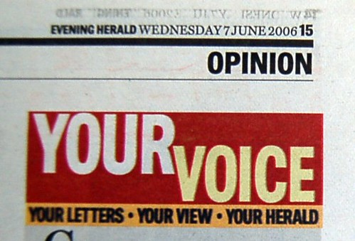 Evening Herald letters2