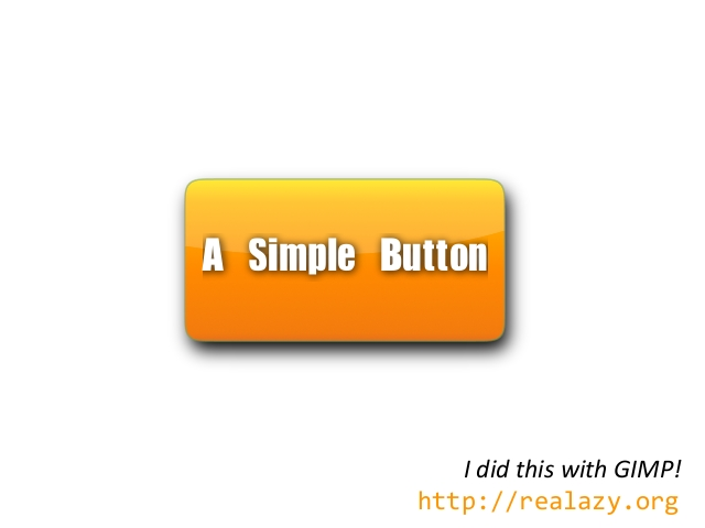 a button done with gimp