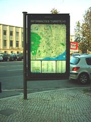Modelo de 2005, com mapa de 1985: Av. Brasil / Av. Rio de Janeiro