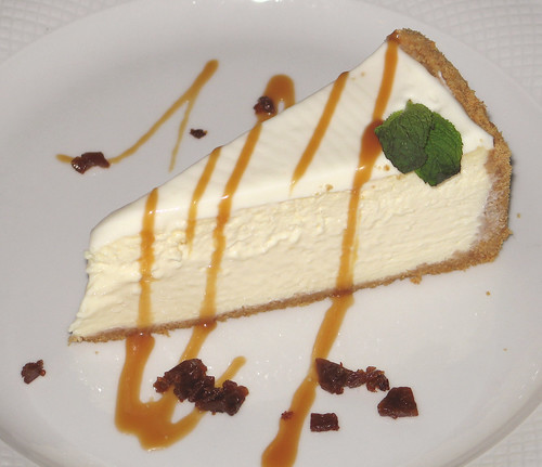 Creole Cream Cheesecake