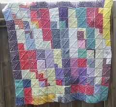Mitred Blanket