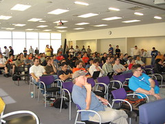 Crowd at Hack Day