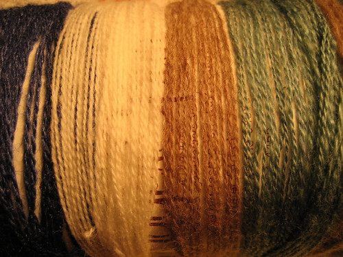 Comparing laceweight samples