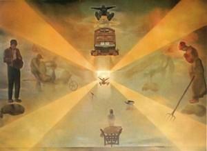 Salvador Dali - La gare de Perpignan