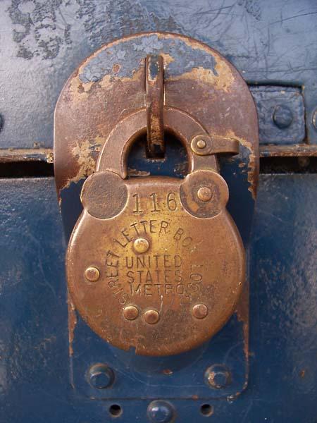 Postal lock