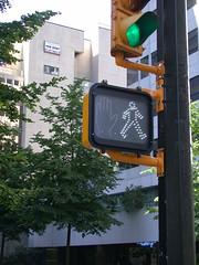 歩行者用信号@Vancouver