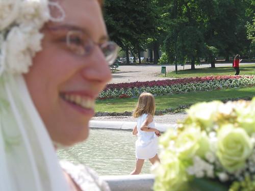 RdM e Marta nella fontana