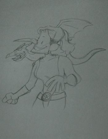 Kitty Pride Sketch
