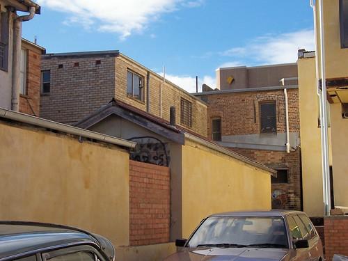 Back of Jephson's Corner Mann Street Gosford