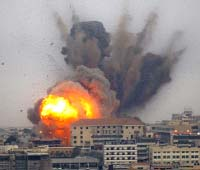 Beirut in flames Christian secition Daily Star