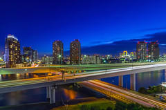 Daiba Cityscape in the Blue photo by 45tmr