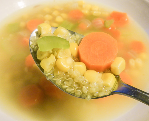 Corn Quinoa Soup