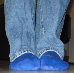 Blue Socks - Squirming photo by mansoles