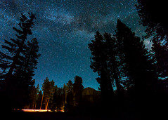 Milky Way Over Lassen Peak photo by melfoody