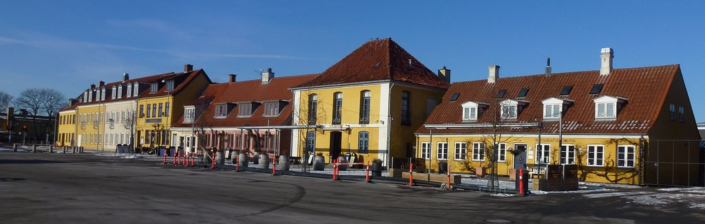 Houses at Køge Harbour