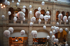 The many faces of Kelvingrove Art Gallery photo by grannie annie taggs