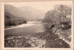 Mai 1945- Italie - Moiola, Italie, la Stura - Col. P. Ruiz