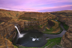 Palouse Falls Sunset photo by sameermundkur