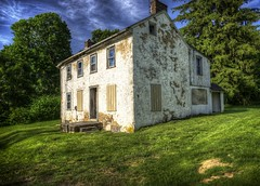 Lovely Old Building on the Grounds of the Sheraton Great Valley in Pennsylvania photo by Babylon and Beyond Photography