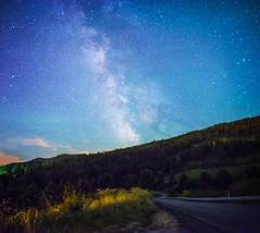 Milky Way? Yeah just down the road... photo by Frank O Cone
